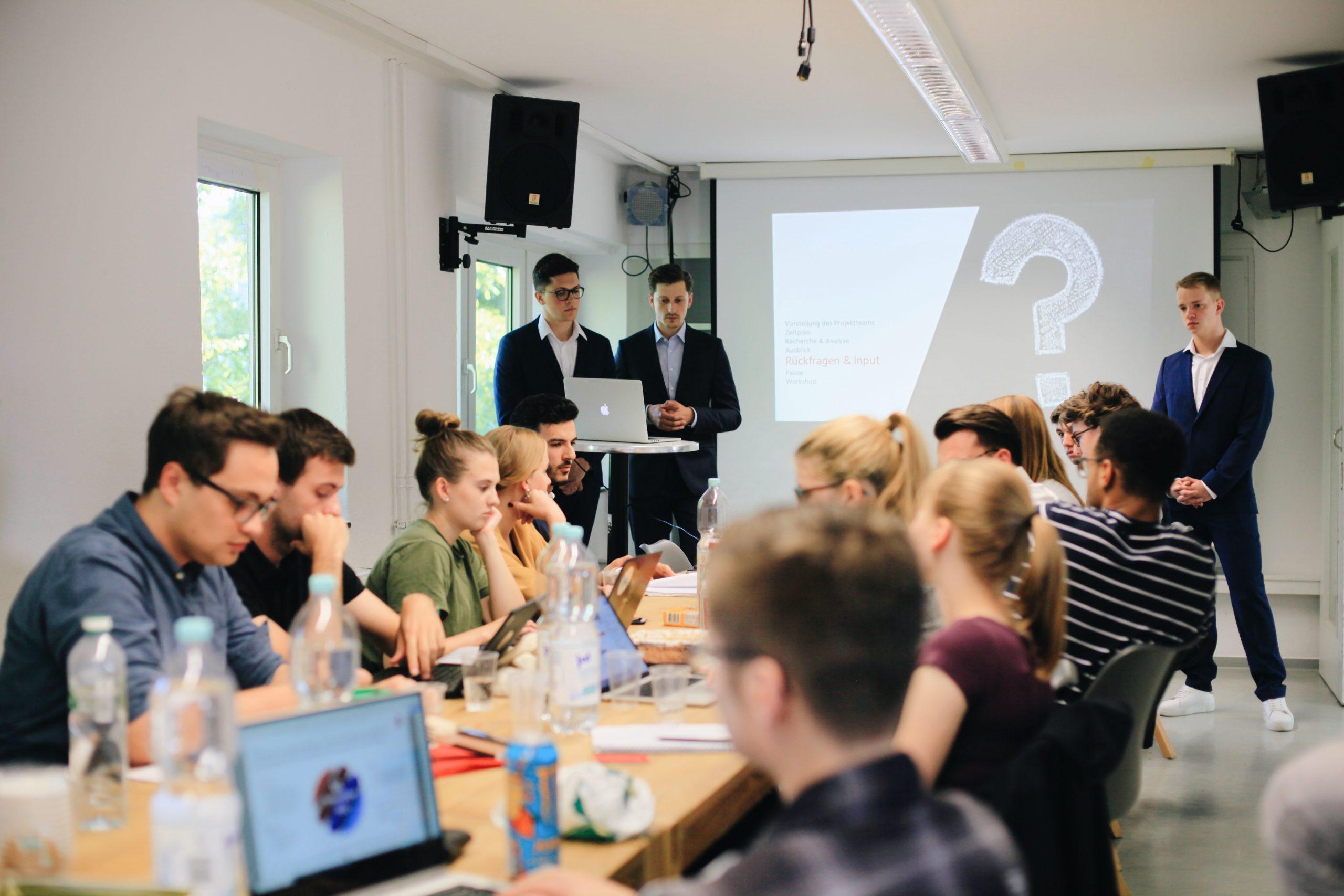 Anwärterpräsentation Innovation Hub